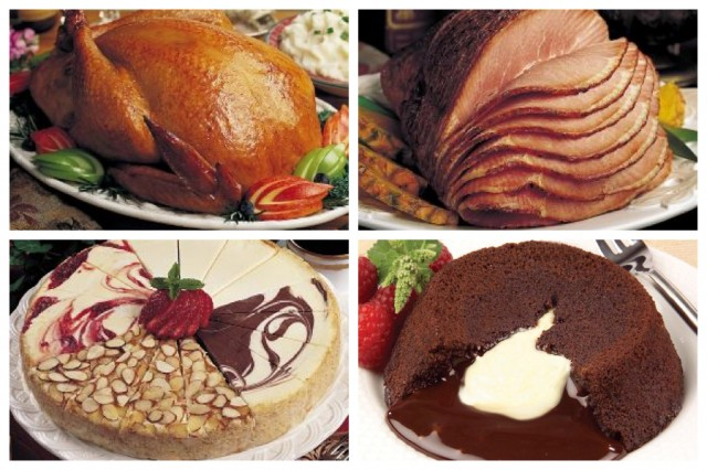 Holiday Ham and Turkey Dinner on QuiBids