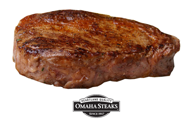 Omaha Steaks 7-Ounce Ribeyes - Pack of 4