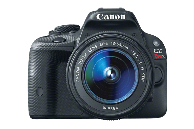 Canon EOS Rebel SL1 DSLR with 18-55mm EF-S IS STM Lens
