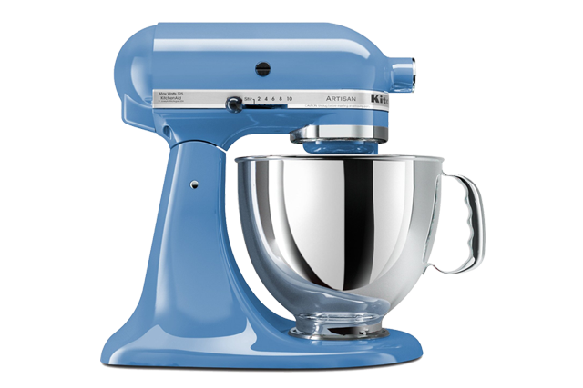 KitchenAid KSM150PSCO Artisan 5-Quart Tilt-Head Stand Mixer - Cornflower Blue
