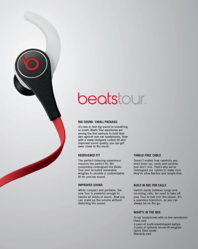 Beats Tour 2.0 In-Ear Headphones on QuiBids