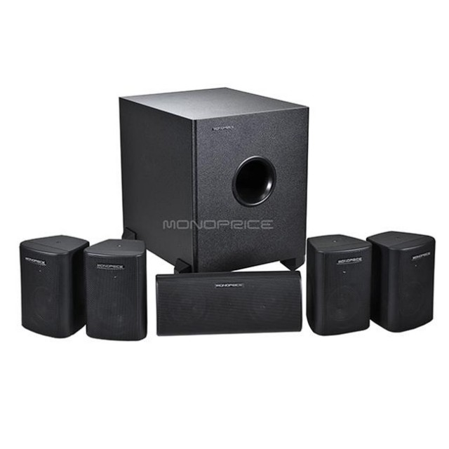 Don't miss a sound during the Super Bowl with a high quality home theater system, like this one from Monoprice. Buy Now from the QuiBids Store for $129.99 and receive 13 Free Bids