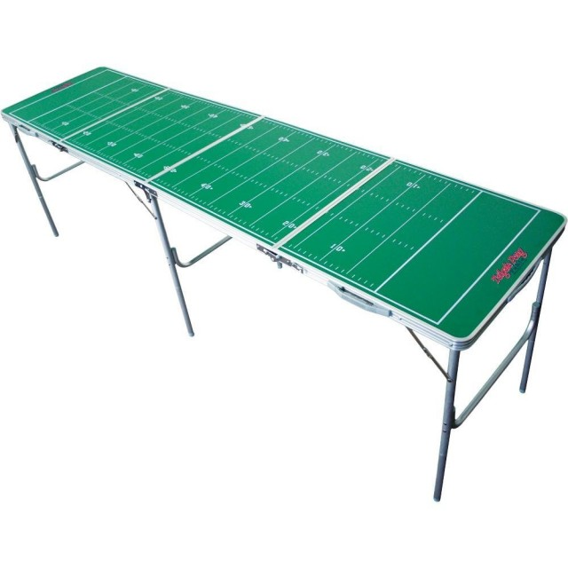 Football Field Beer Pong Table on QuiBids