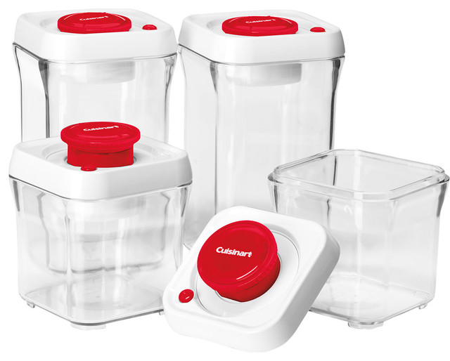 cuisinart fresh edge 8-piece storage container set on QuiBids