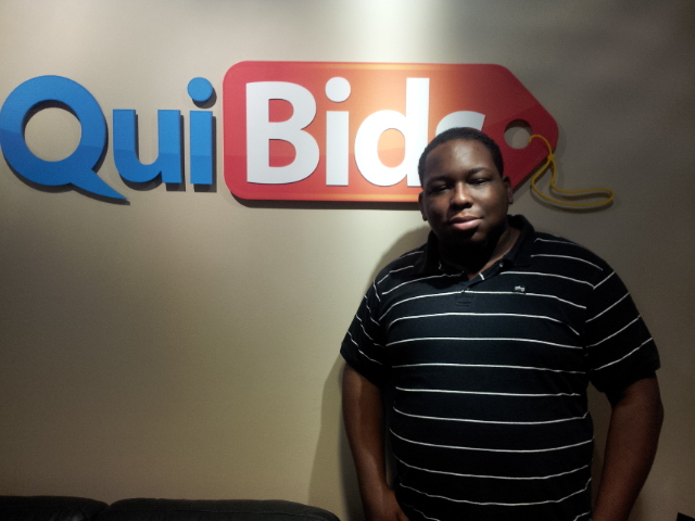 QuiBids Employee Jeremy Ussery
