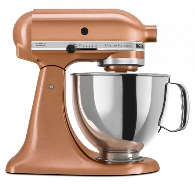 Metallic Stand Mixer on QuiBids
