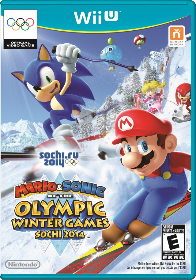 Mario and Sonic Olympics 2014 Wii U
