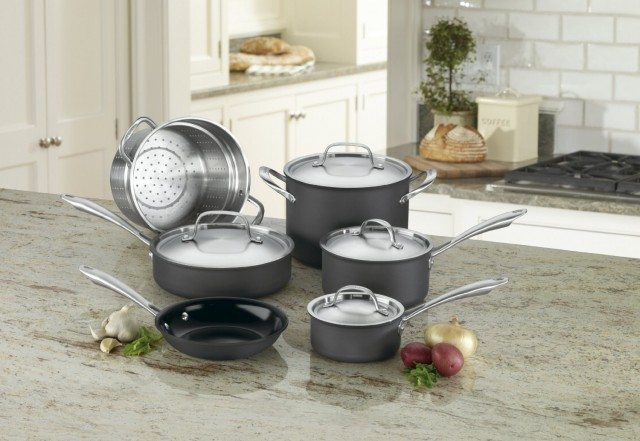 Cuisinart Green Eco Friendly Pots and Pans