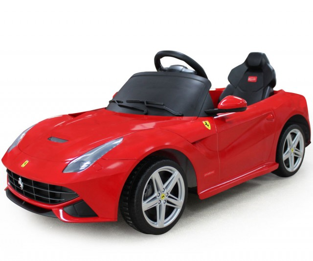 Big Toys Ferrari California 12V Car - Red