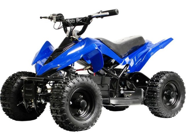MotoTec MT-ATV 24 Volts Mini Quad - Blue