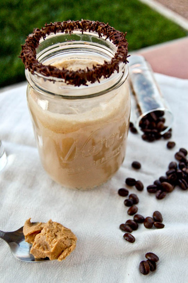 Frothy Peanut Butter Iced Coffee Recipe