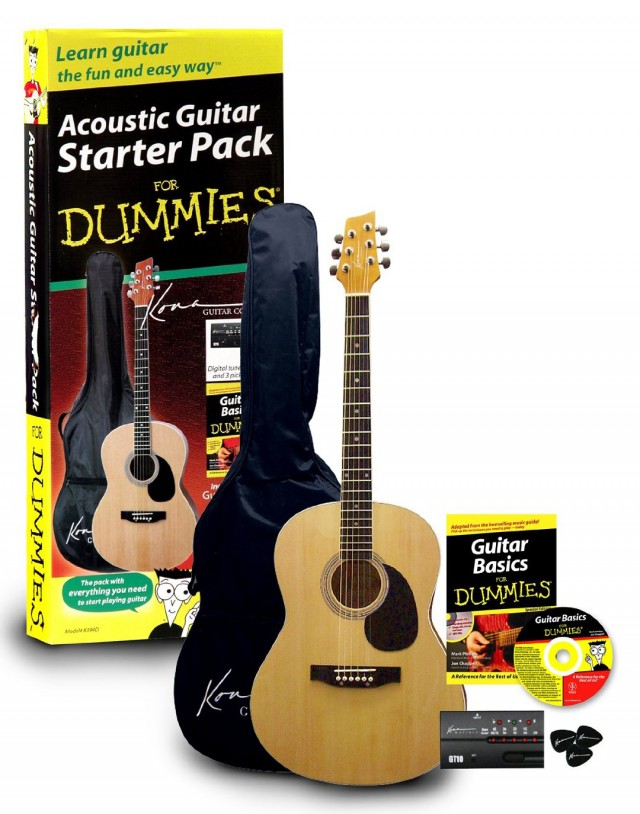 Acoustic Guitar Starter Pack For Dummies