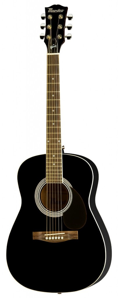 Gibson Parlor Size Acoustic Guitar - Black