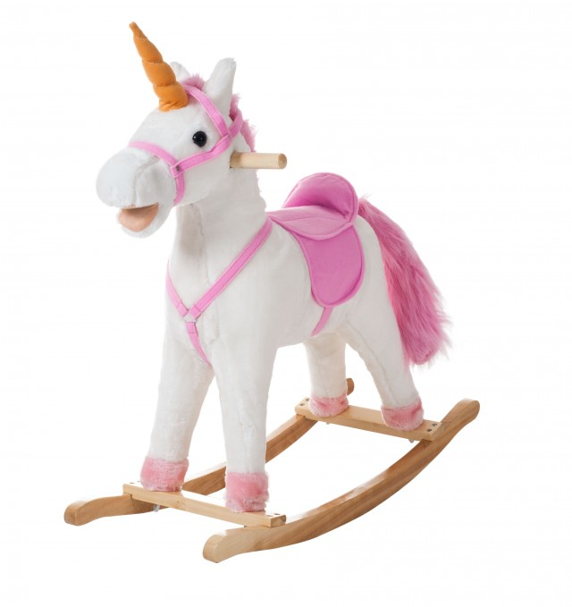Happy Trails Bella the Rocking Unicorn - QuiBids.com
