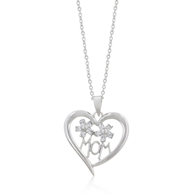 I heart Mom Pendant