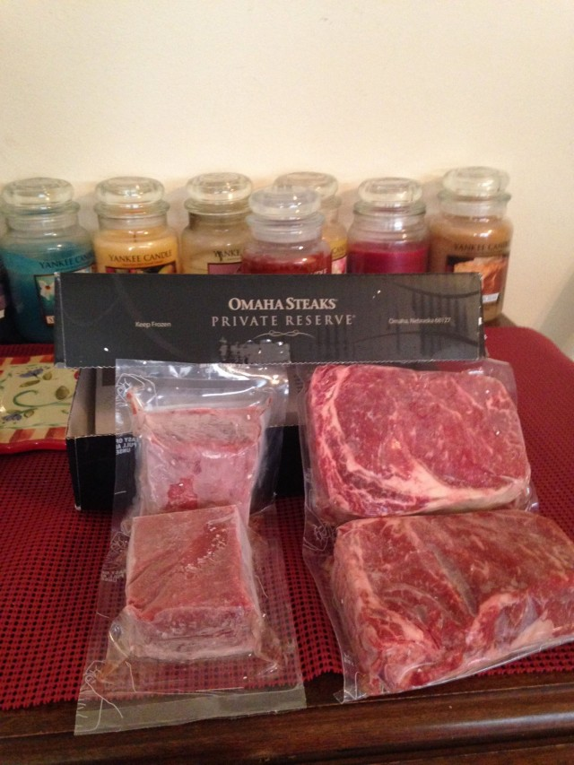 QuiBids customers love sharing the Omaha Steaks they won