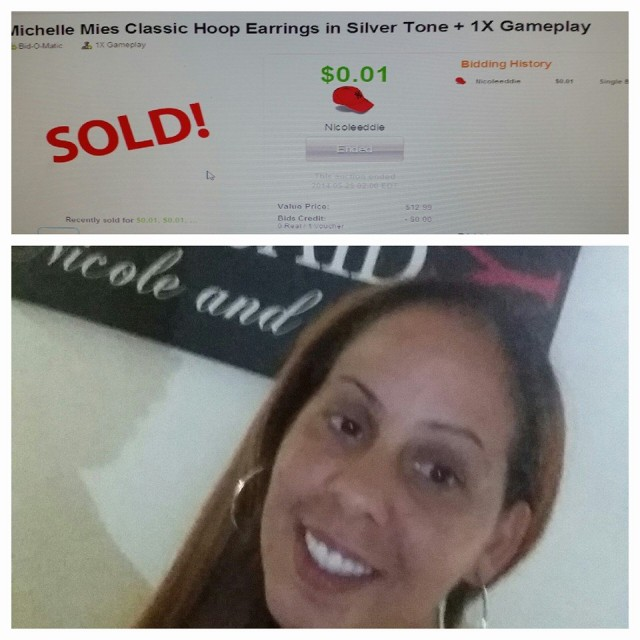 Real Customer QuiBids Win Testimonial - Nicole