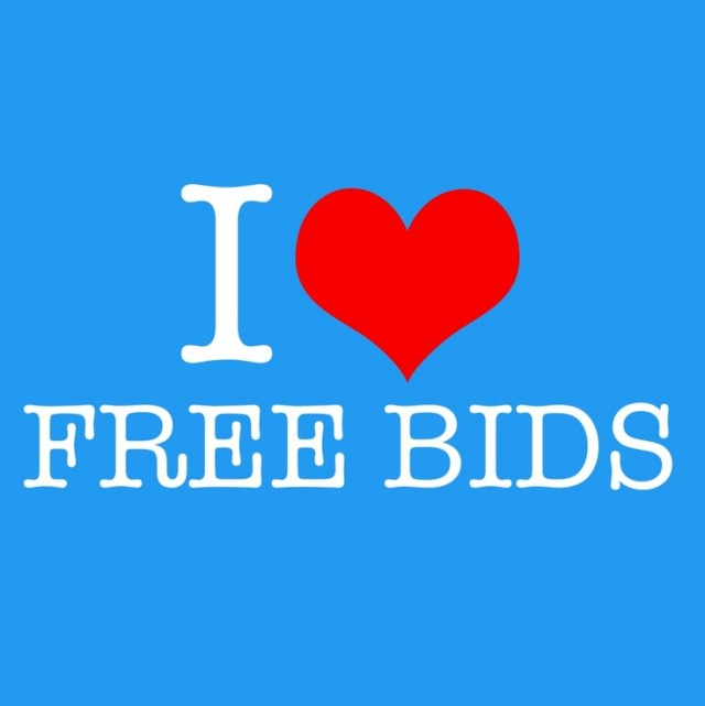 13 ways to get free bids or gameplays on for Get bids