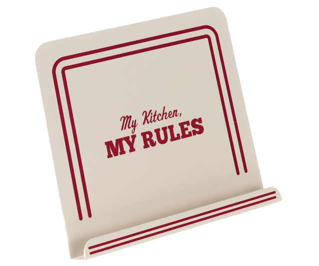 Cake Boss My Kitchen My Rules Countertop Cookbook Stand
