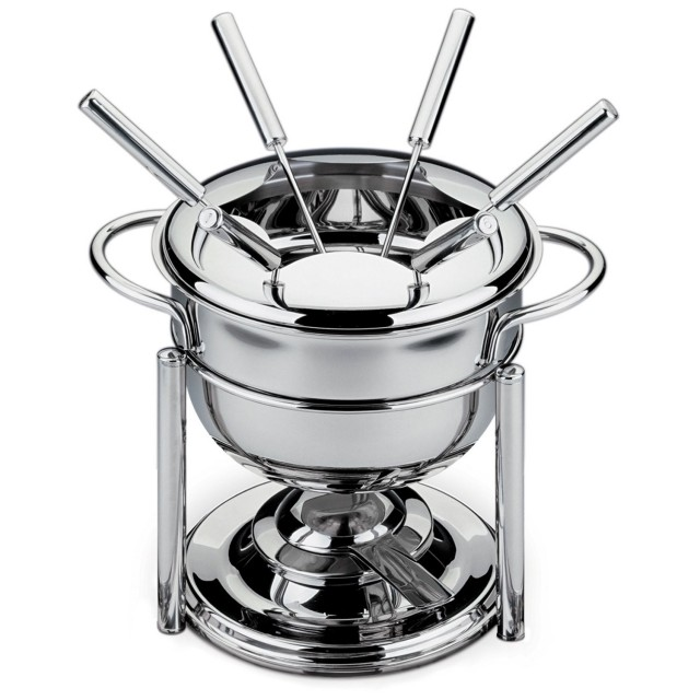 BergHOFF 11-Piece Stainless Steel Fondue Set