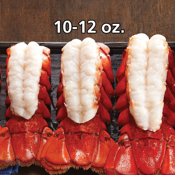 Lobster Tails, 10-12 oz - Pack of 6 - QuiBids.com
