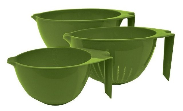 Cat Cora 3-Piece Mixing Bowl Set