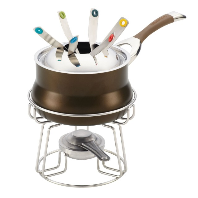 Circulon Symmetry Chocolate 3.25-Quart Fondue Pot