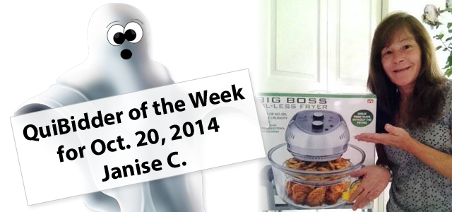 QuiBidder of the Week - Janise C