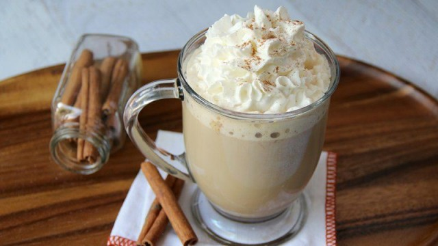 Slow Cooker Pumpkin Spiced Latte