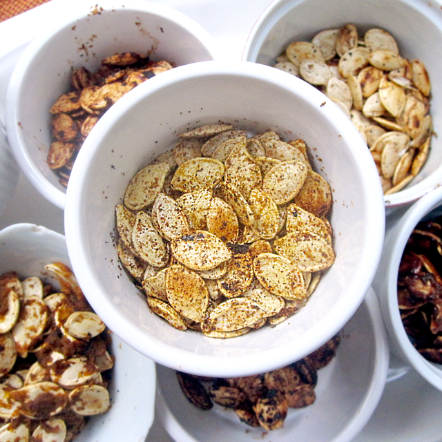 Baked Pumpkin Seeds