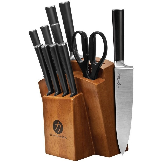 Ginsu Chikara 12-Piece Knife Block Set