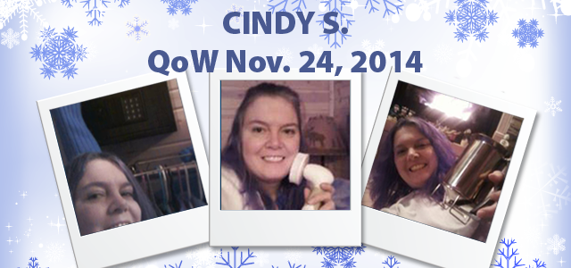 QuiBidder of the Week – Cindy S.
