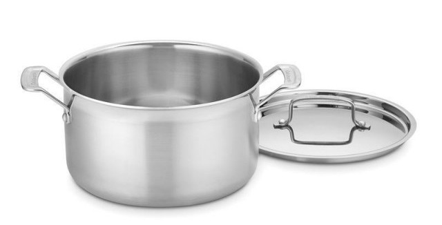Cuisinart 8-Quart MultiClad Pro Stainless Saucepot with Cover