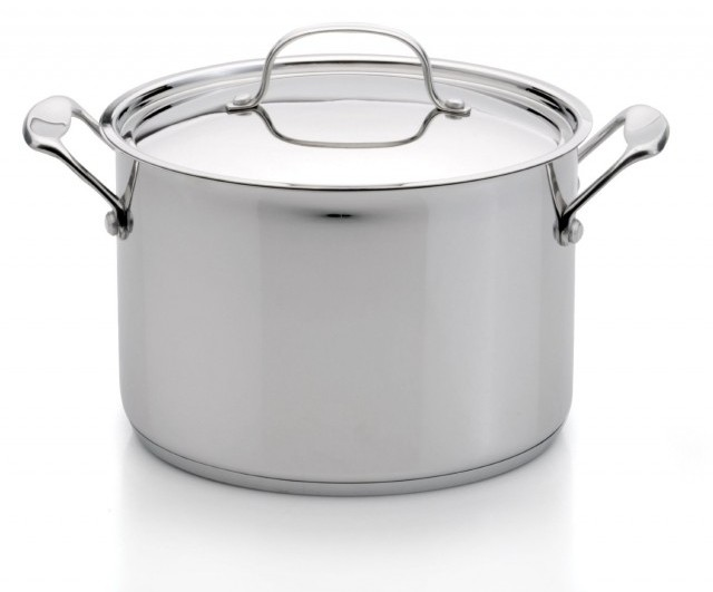 Berghoff Earthchef 8 qt Stainless Steel Covered Stock Pot