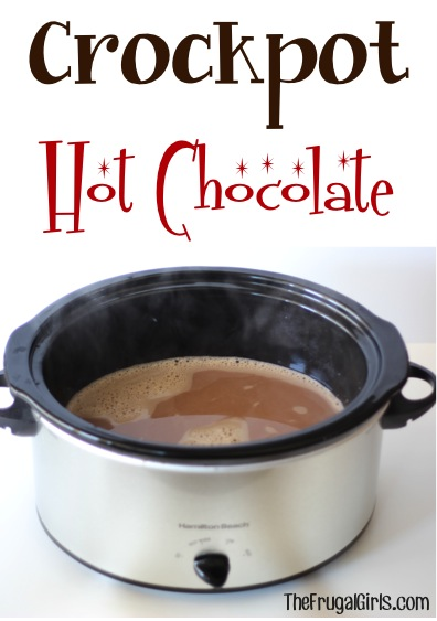 Simple Crock Pot Hot Chocolate Recipe