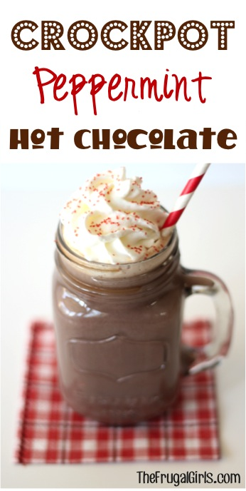 Crock Pot Peppermint Hot Chocolate Recipe