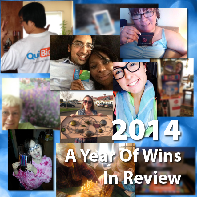 2014 - A Year of Wins in Review