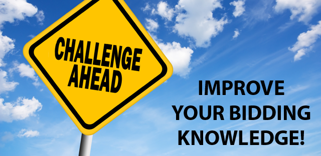 Improve your bidding knowledge