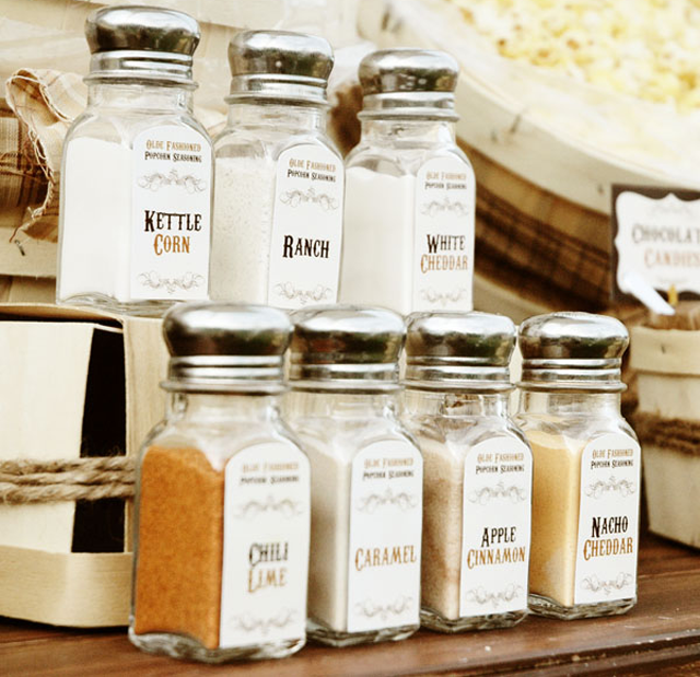 Spices and Seasonings For Your Popcorn