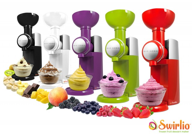Swirlio Frozen Fruit Dessert Maker on QuiBids.com