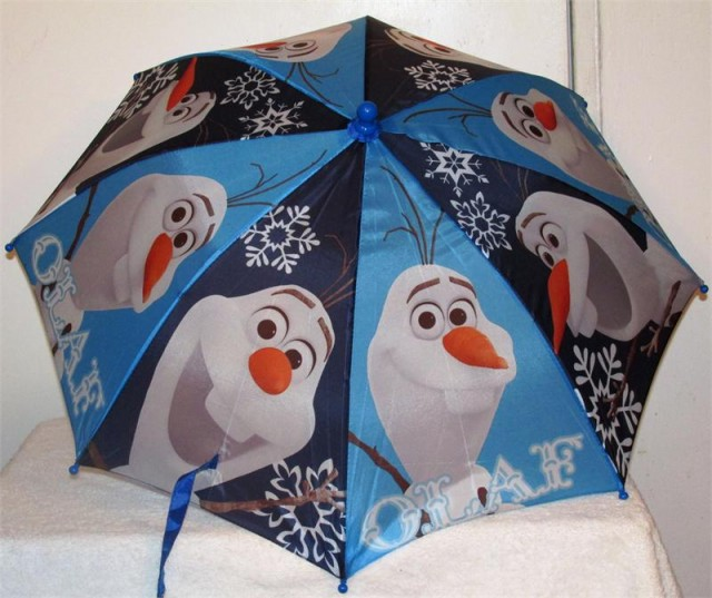 Frozen Olaf Umbrella - QuiBids.com