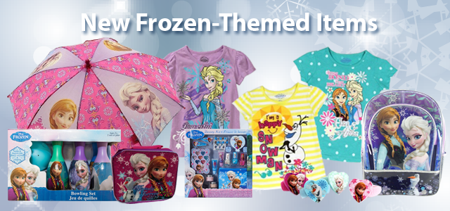 Frozen Clothes and Toys on QuiBids