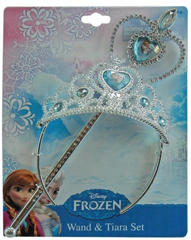 Frozen Wand and Tiara Set - QuiBids.com