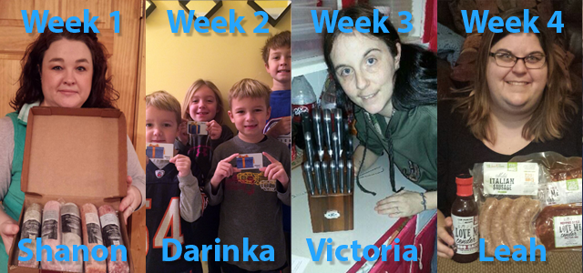 January QoW Winners