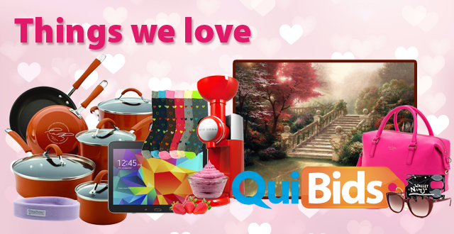 Things We Love on QuiBids 2015