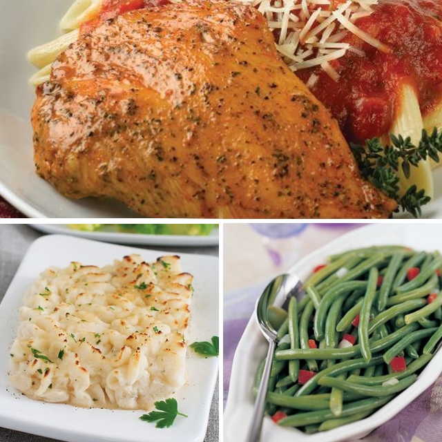 Omaha Steaks Italian Chicken Feast