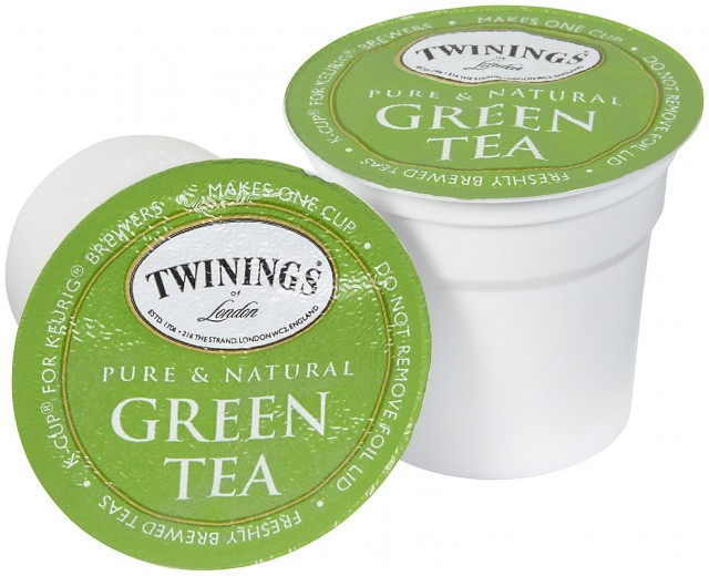 Twinings K-Cups For Keurig Brewers - Green Tea - 24 Count