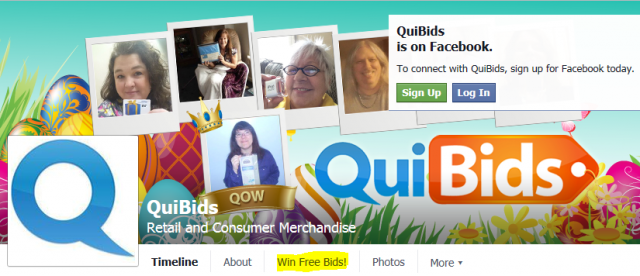 About QuiBids. Find some of the most amazing merchandise for auction at QuiBids. This fast-paced website puts some of the most sought after goods at the end of your mouse pointer as you bid .