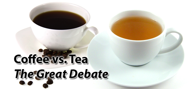 Coffee vs Tea The Great Debate