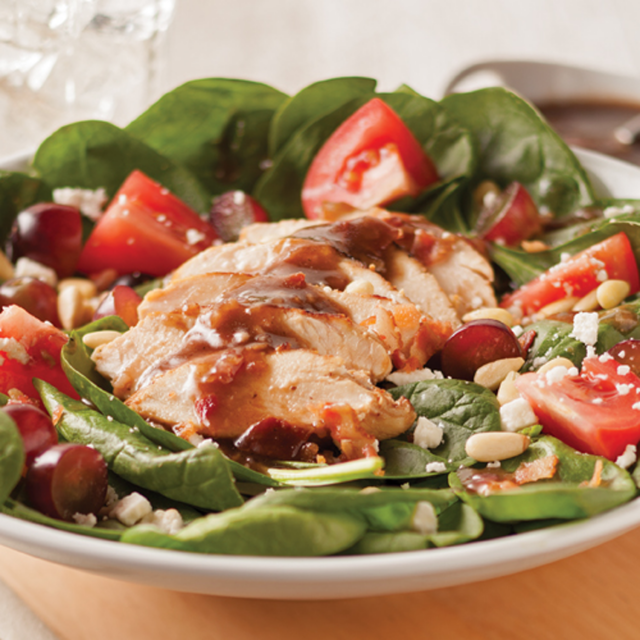Grilled Chicken and Spinach Salad - Sizzling Summertime Tastes Series